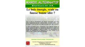 Le bois énergie, vraie ou fausse bonne idée ?